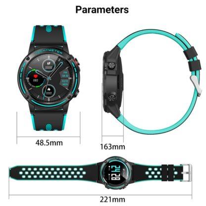 Спортивные смарт-часы — GPS, компас, барометр, высотомер, пульсометр