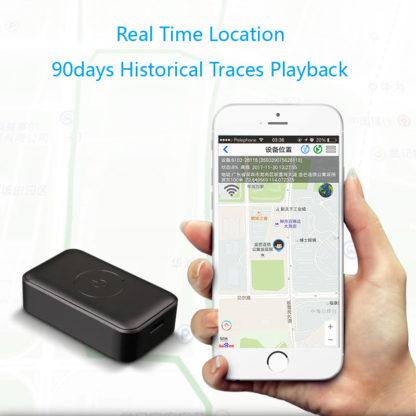 GPS трекер для питомца с передачей звука и кнопкой SOS